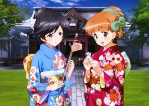 Rating: Safe Score: 25 Tags: girls_und_panzer isuzu_hana kimono takebe_saori User: drop