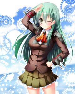 Rating: Safe Score: 30 Tags: kantai_collection seifuku shin_osada suzuya_(kancolle) User: 椎名深夏