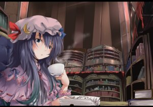 Rating: Safe Score: 9 Tags: nejime patchouli_knowledge touhou User: yumichi-sama