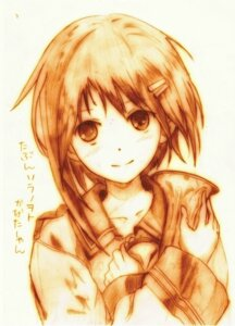 Rating: Safe Score: 4 Tags: godees monochrome sorami_kanata sora_no_woto User: charunetra