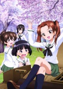 Rating: Safe Score: 24 Tags: girls_und_panzer kadotani_anzu kawashima_momo koyama_yuzu megane seifuku sono_midoriko yamaguchi_asuka User: drop