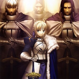 Rating: Safe Score: 16 Tags: fate/stay_night saber takeuchi_takashi type-moon User: vita