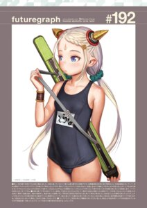 Rating: Safe Score: 15 Tags: cop_craft horns range_murata school_swimsuit swimsuits tilarna_exedilika User: Poiness