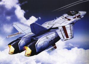 Rating: Safe Score: 7 Tags: binding_discoloration macross mecha tenjin_hidetaka User: oldwrench