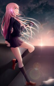 Rating: Safe Score: 46 Tags: geduan megurine_luka seifuku vocaloid User: charunetra