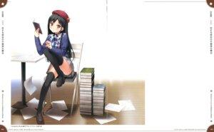 Rating: Questionable Score: 43 Tags: cube fixme gap kantoku koi_suru_kanojo_no_bukiyou_na_butai nanase_sena pantsu sweater thighhighs User: Twinsenzw