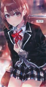 Rating: Safe Score: 58 Tags: isshiki_iroha ponkan_8 seifuku yahari_ore_no_seishun_lovecome_wa_machigatteiru. User: h71337