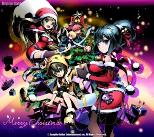 Rating: Questionable Score: 21 Tags: christmas divine_gate tagme thighhighs User: a20023