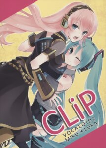 Rating: Questionable Score: 10 Tags: hatsune_miku hijiki megurine_luka vocaloid User: Raza