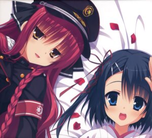 Rating: Safe Score: 44 Tags: dracu-riot! mera_azusa miko muririn uniform yarai_miu yuzu-soft User: batinthebelfry