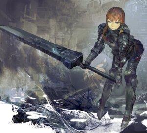 Rating: Safe Score: 24 Tags: armor sword uturo User: Radioactive