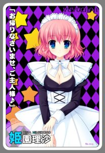 Rating: Safe Score: 22 Tags: cleavage himezono_risa maid mitha nanawind yuyukana User: blooregardo
