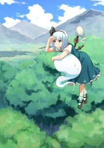 Rating: Safe Score: 29 Tags: konpaku_youmu myon siyajiyatouhou sword touhou User: Mr_GT