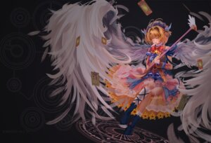 Rating: Safe Score: 18 Tags: blank_heaven card_captor_sakura dress kinomoto_sakura see_through weapon wings User: LolitaJoy