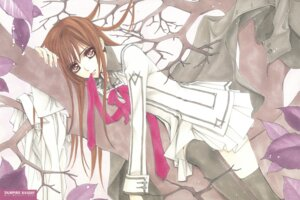 Rating: Safe Score: 10 Tags: cross_yuuki hino_matsuri seifuku thighhighs vampire_knight User: Radioactive