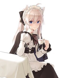Rating: Safe Score: 57 Tags: animal_ears azure0608 maid majo_no_tabitabi tagme User: hiroimo2