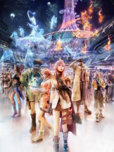 Rating: Safe Score: 20 Tags: cg final_fantasy final_fantasy_xiii hope_estheim lightning oerba_dia_vanille oerba_yun_fang sazh_katzroy snow_villiers square_enix User: Radioactive
