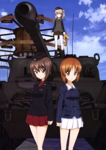 Rating: Safe Score: 11 Tags: bandages girls_und_panzer nishizumi_maho nishizumi_miho shimada_arisu uniform User: drop