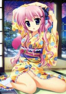 Rating: Questionable Score: 65 Tags: fujima_takuya nopan yukata User: fairyren