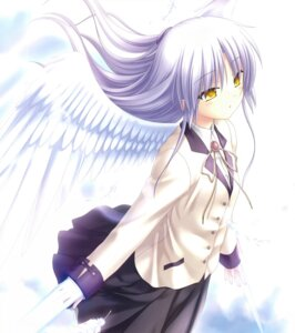 Rating: Safe Score: 26 Tags: angel angel_beats! key na-ga seifuku tenshi wings User: marechal