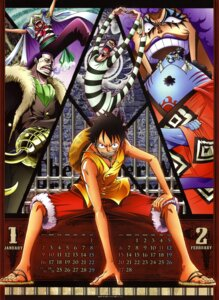 Rating: Safe Score: 14 Tags: buggy calendar crocodile emporio_ivankov feet jinbei male monkey_d_luffy mr._2_bon_clay one_piece User: draxdrilox