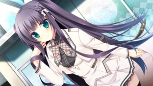Rating: Safe Score: 54 Tags: chuablesoft game_cg hatori_piyoko seifuku sumeragi_rinne thighhighs zannen_na_oretachi_no_seishun_jijou. User: Checkmate