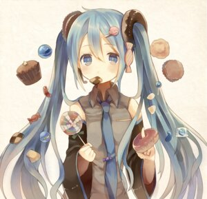 Rating: Safe Score: 37 Tags: ategoya hatsune_miku vocaloid User: Romio88