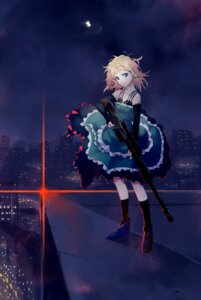 Rating: Safe Score: 64 Tags: black_bullet dress gun kiryuutyki tina_sprout User: zero|fade