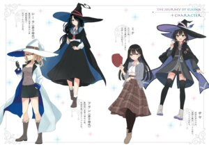Rating: Safe Score: 27 Tags: azure0608 cleavage sweater thighhighs weapon witch User: kiyoe