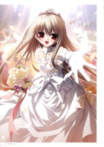 Rating: Safe Score: 46 Tags: chikotam dress eden minori sion wedding_dress User: WtfCakes