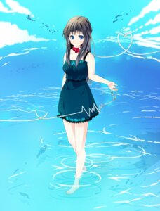 Rating: Safe Score: 6 Tags: blue_vert dress summer_dress User: charunetra
