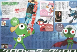 Rating: Safe Score: 2 Tags: crease dark_keroro doruru gun keroro keroro_gunsou miruru nakayama_hatsue shivava torn_clothes User: Radioactive