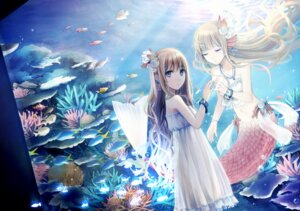 Rating: Safe Score: 50 Tags: amamizu dress mermaid summer_dress User: blooregardo