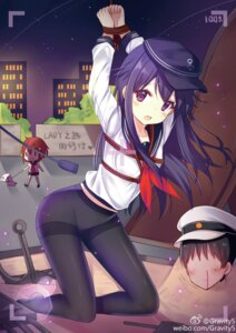 Rating: Safe Score: 60 Tags: admiral_(kancolle) akatsuki_(kancolle) blood bondage ikazuchi_(kancolle) kantai_collection kazucha pantyhose seifuku User: nphuongsun93