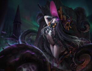 Rating: Questionable Score: 41 Tags: abigail_williams_(fate/grand_order) fate/grand_order pantsu sarena tentacles topless witch User: BattlequeenYume