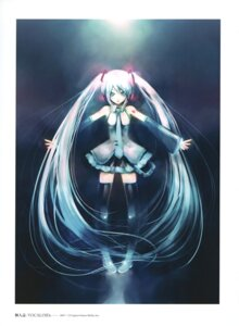 Rating: Safe Score: 14 Tags: hatsune_miku kei thighhighs vocaloid User: fireattack