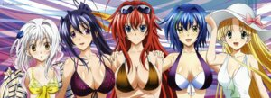 Rating: Questionable Score: 108 Tags: asia_argento cleavage gotou_junji highschool_dxd highschool_dxd_new himejima_akeno rias_gremory swimsuits toujou_koneko zenovia_(highschool_dxd) User: drop