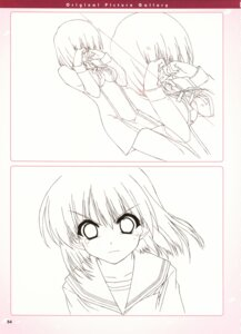 Rating: Safe Score: 8 Tags: boy_meets_girl kasugano_haruna shintarou sketch User: admin2