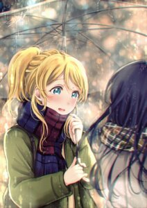 Rating: Safe Score: 22 Tags: ayase_eli love_live! sonoda_umi tagme umbrella User: Spidey