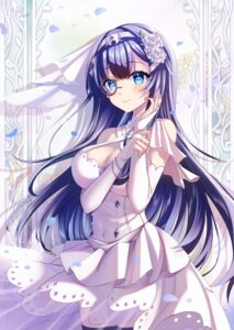 Rating: Questionable Score: 10 Tags: cleavage dress golden_goblin7 hololive hololive_china megane rosalyn see_through skirt_lift tagme thighhighs wedding_dress User: BattlequeenYume