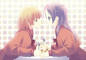 Rating: Safe Score: 19 Tags: kurasawa_kyoushou seifuku yuri User: Radioactive