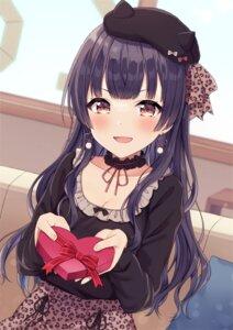Rating: Safe Score: 23 Tags: cleavage mayuzumi_fuyuko mochiko_(uyu_omochi) the_idolm@ster the_idolm@ster_shiny_colors valentine User: BattlequeenYume