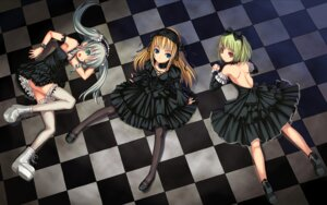 Rating: Safe Score: 153 Tags: bosshi gothic_lolita heels lolita_fashion pantyhose thighhighs wallpaper User: boon