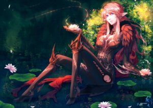 Rating: Safe Score: 32 Tags: bodysuit cleavage dniseb elf heels no_bra pointy_ears tera_online User: charunetra