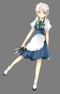 Rating: Safe Score: 6 Tags: 74_(teduka) izayoi_sakuya maid touhou transparent_png User: charunetra