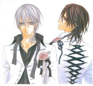 Rating: Safe Score: 3 Tags: hino_matsuri kiryuu_zero kuran_kaname male vampire_knight User: Radioactive