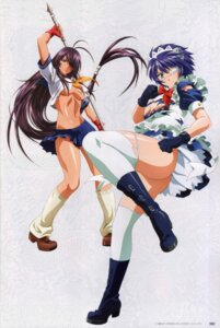 Rating: Questionable Score: 28 Tags: eyepatch ikkitousen ikkitousen~xtreme_xecutor~ kanu_unchou maid no_bra nopan overfiltered ryomou_shimei seifuku thighhighs torn_clothes underboob User: narutoXgarcia