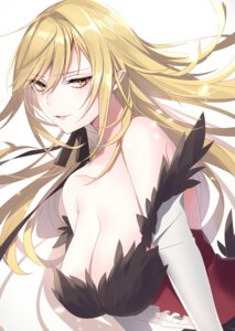 Rating: Safe Score: 36 Tags: bakemonogatari cleavage kissshot_acerolaorion_heartunderblade neko-san_(dim.dream) no_bra User: Mr_GT
