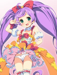 Rating: Questionable Score: 34 Tags: dress garter homing loli manaka_lala pantsu pripara thighhighs User: blooregardo
