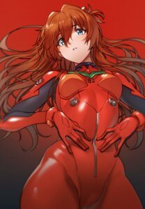 Rating: Questionable Score: 40 Tags: bodysuit cacao_(chocolat) cameltoe neon_genesis_evangelion souryuu_asuka_langley User: Spidey